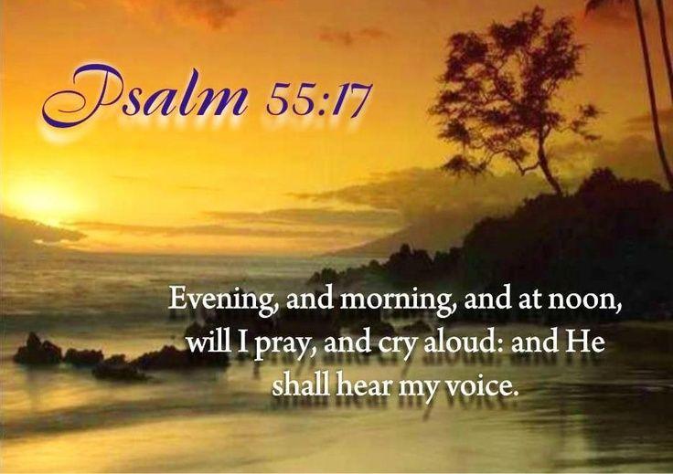 Psalm 55 17