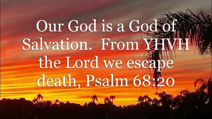 Psalm68 20