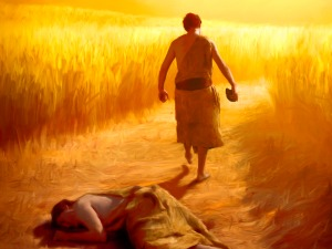 Cain killing Able