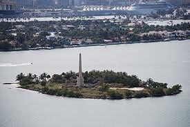 Miami beach monument