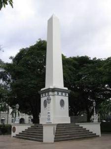 Singapore monument