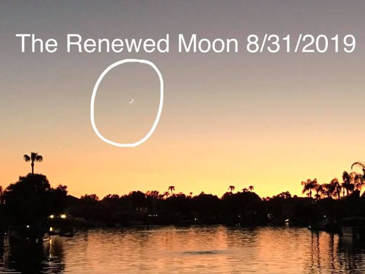 Renewed moon