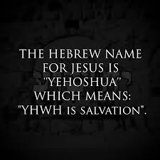 YHVH's salvation