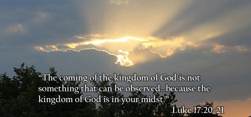 Luke 17 20
