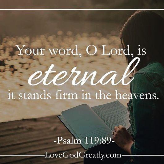 Psalm 119 89