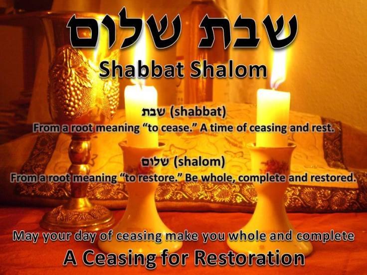 7th day Shabbat Shalom