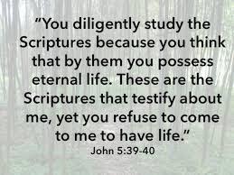 John 5 39 40