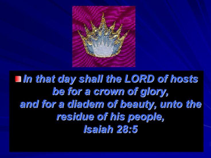 crown of glory Isaiah