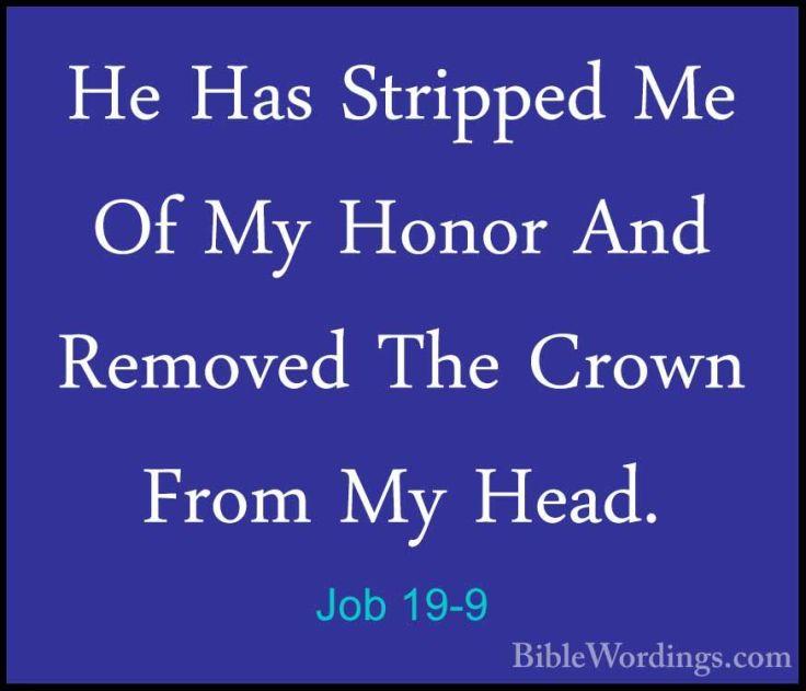 Job-19-9 crown stripped
