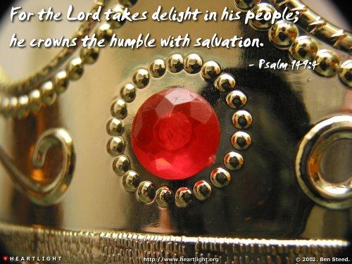 psalm149_4 crown salvation