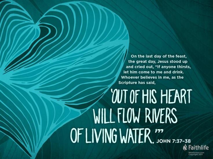 Living Water John 7 37-39