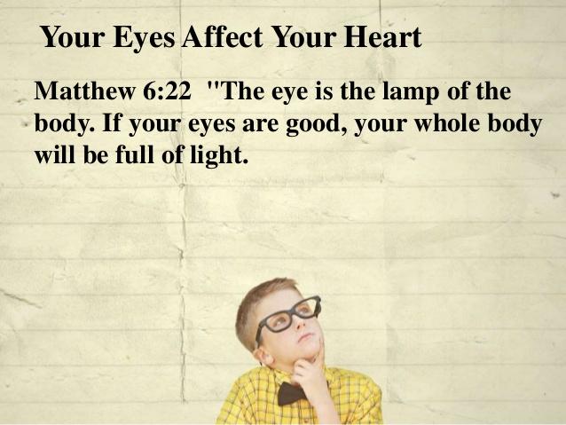 Matthew 6 eye
